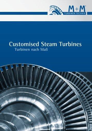Customised Steam Turbines - M+M Turbinen-Technik