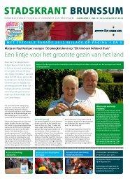 Stadskrant Brunssum, uitgave juli augustus 2012 - Gemeente ...