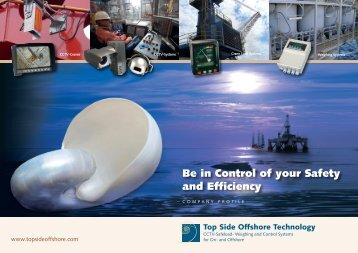 Download our Brochure - Top Side Offshore Technology