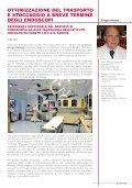 Ottimizzazione del trasporto e stoccaggio a termine degli endoscopi. - Page 2