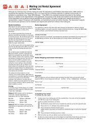 Download application form here - Association for Behavior Analysis ...