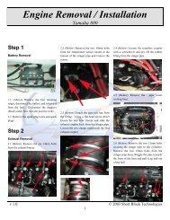 Engine Removal / Installation Yamaha FX140 / HO - Short