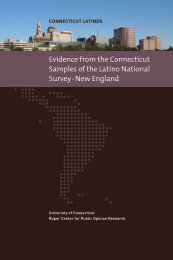 Evidence from the Connecticut Samples of the Latino National Survey