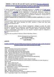 ORDIN nr. 1801 din 29 iunie 2011 pentru aprobarea Planului ...