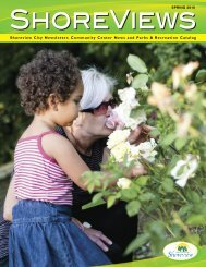 Shoreview City Newsletter, Community Center News and Parks ...