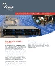 V1-Plus Rugged 2u seRVeR 979 seRies - DRS Technologies