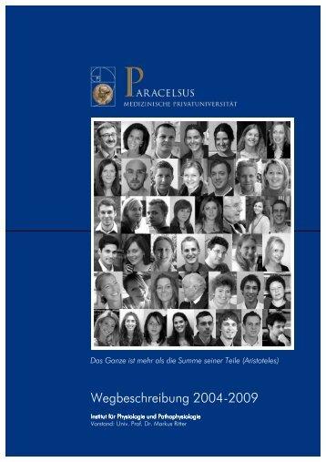 Jahresbericht 2004-2009 - PMU