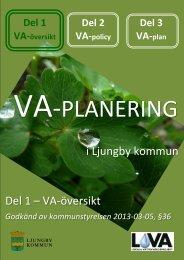 Disposition - VA-översikt - Ljungby