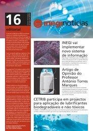 boletim 16_pdf - inegi - Universidade do Porto
