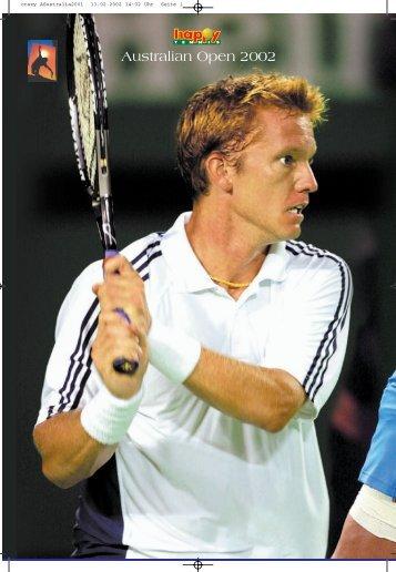 Australian Open 2002 - Tennisturnier.at