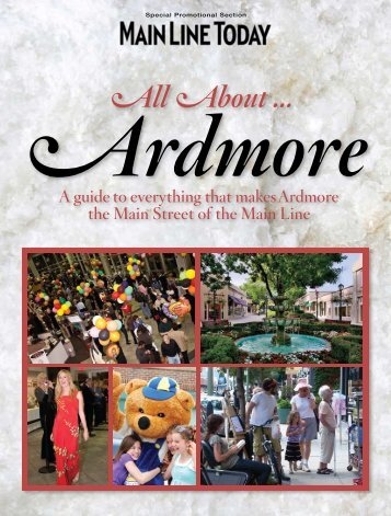 Ardmore Is All About - Main Line Today