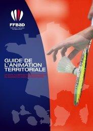 guide de l'animation territoriale - Fédération Française De Badminton