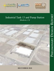 Industrial Tank 13 and Pump Station PDR (PDF) - City of Modesto