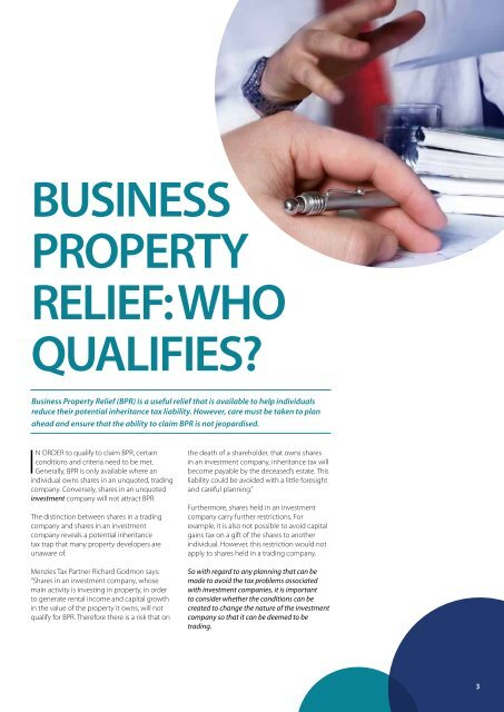 Property Insight - Spring 2011 - Menzies