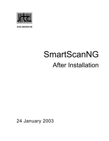 SmartScanNG - Signal Computer Consultants