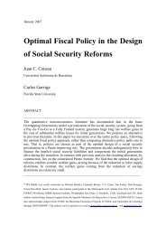 Optimal Fiscal Policy in the Design of Social Security Reforms