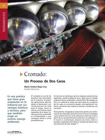 Tratamientos - Cromado: Un Proceso de Dos Cara - Revista Metal ...
