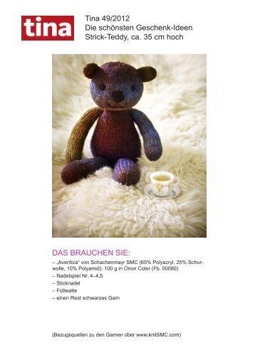 Tina 49/2012 Die schönsten Geschenk-Ideen Strick ... - Wunderweib
