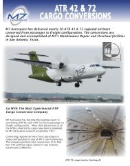 ATR 42 & 72 CARGO CONVERSIONS - Elbit Systems of America