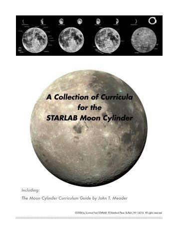 A Collection of Curricula for the STARLAB Moon Cylinder