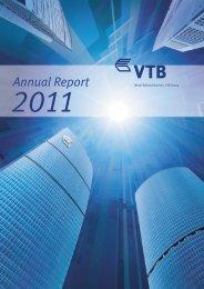 Annual report 2011 - VTB