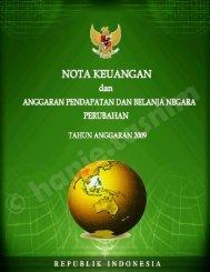 APBN-p-2009 - Direktorat Jenderal Anggaran Kementerian ...