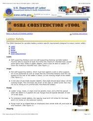 Ladder Safety - stagecraft fundamentals