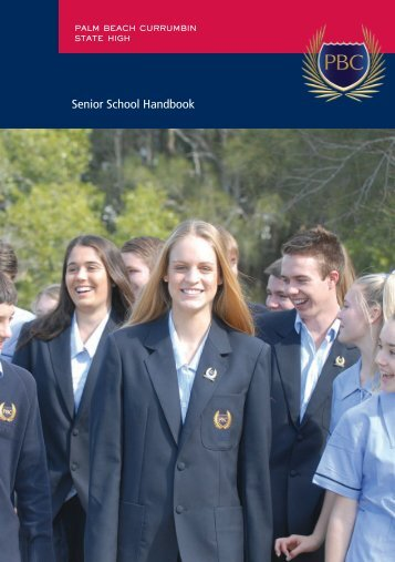 Senior School Handbook - Palm Beach Currumbin State High