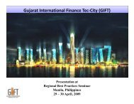 Gujarat International Finance Tec-City (GIFT) proposal in India - PRT ...