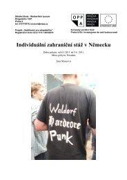 Jana Slancová – 2. ročník, pobyt v Potsdami - Waldorfské lyceum ...