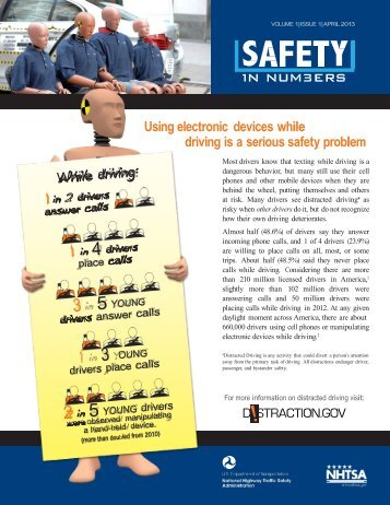 Apr. 17 - Texting while Driving Research