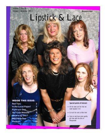 Lipstick & Lace - Masquerade