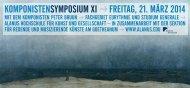 Flyer zum Symposium