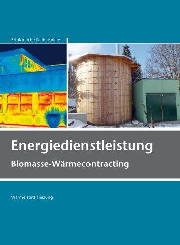 Energiedienstleistung - Biomasse-Wärmecontracting