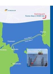 Evolving grid Fenno-Skan 2 HVDC link - Fingrid