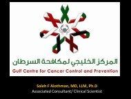 Saleh F Alothman, MD, LLM, Ph.D Associated Consultant/ Clinical ...