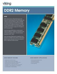 DDR2 Product Brief - Viking Technology