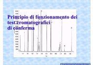 Principio di funzionamento dei test cromatografici di ... - Ce.Do.S.T.Ar.