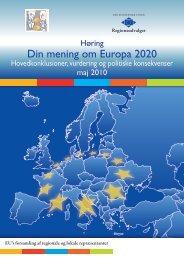 Din mening om Europa 2020
