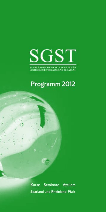 Programm 2012 - SGST