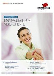 ENGAGIERT FÜR VERSICHERTE - Sozialwahl 2011