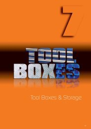 Tool Boxes & Storage - Industrial and Bearing Supplies