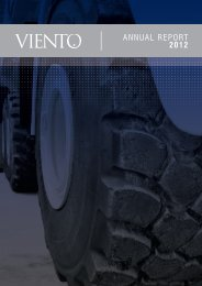 ANNUAL REPORT 2012 - Viento