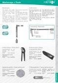 Messgeräte, Werkzeuge Measuring instruments, tools - Tekno Group - Seite 6