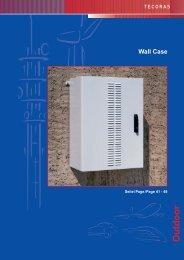 Outdoor Wall Case - Connex Telecom