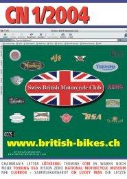Umbruch CN 1 - Swiss British Motorcycle Club