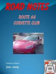 Road Notes Jan 2009.pdf - Route 66 Corvette Club