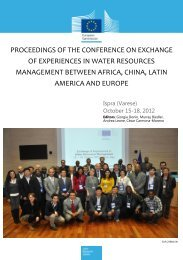 PROCEEDINGS OF THE CONFERENCE ON ... - Aquaknow