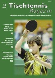 Wir sind Tischtennis - TTVN