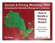 How to Handle a Privacy Breach - Verney Conference Management